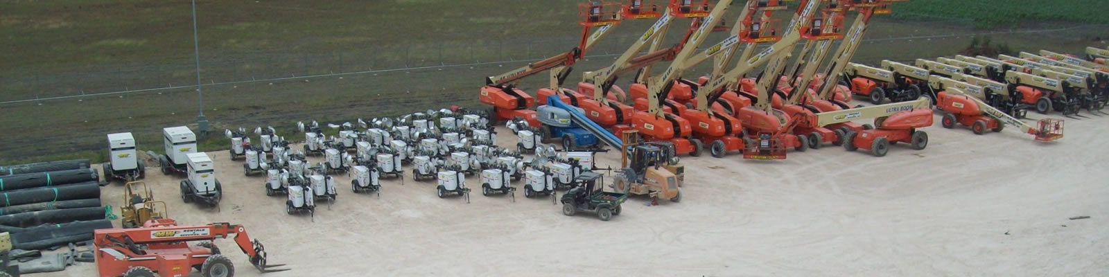Our company specializes in equipment rentals and oil field services.