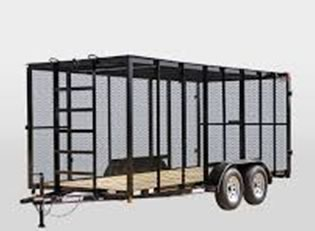 Trash Trailer rentals