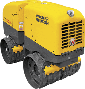 Walk Behind Dirt earth compactor and roller for Rent